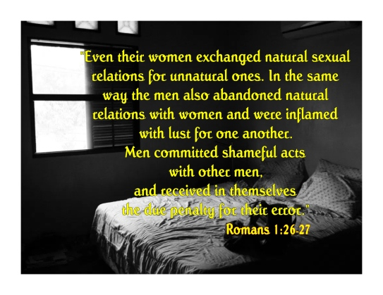Romans 1 26-27